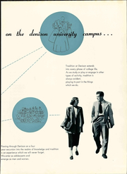 Page 11, 1950 Edition, Denison University - Adytum Yearbook (Granville, OH) online yearbook collection