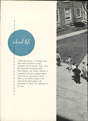 Page 12, 1950 Edition, Denison University - Adytum Yearbook (Granville, OH) online yearbook collection