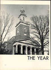 Page 8, 1963 Edition, Denison University - Adytum Yearbook (Granville, OH) online yearbook collection