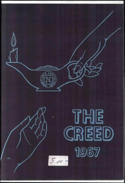 Flower Hospital School of Nursing - Creed Yearbook (Toledo, OH) online yearbook collection, 1967 Edition, Page 1