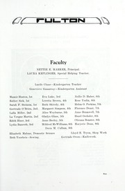Page 11, 1922 Edition, Fulton School - Fulton Yearbook (Toledo, OH) online yearbook collection