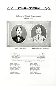 Page 12, 1922 Edition, Fulton School - Fulton Yearbook (Toledo, OH) online yearbook collection