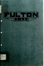 Page 5, 1922 Edition, Fulton School - Fulton Yearbook (Toledo, OH) online yearbook collection
