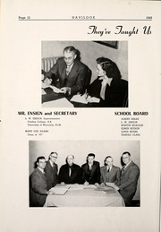 Page 16, 1949 Edition, Haviland High School - Havilook Yearbook (Haviland, OH) online yearbook collection