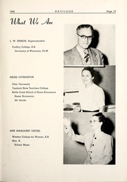Page 17, 1949 Edition, Haviland High School - Havilook Yearbook (Haviland, OH) online yearbook collection