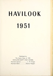 Page 5, 1951 Edition, Haviland High School - Havilook Yearbook (Haviland, OH) online yearbook collection