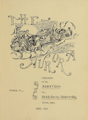 Page 4, 1898 Edition, Heidelberg University - Aurora Yearbook (Tiffin, OH) online yearbook collection