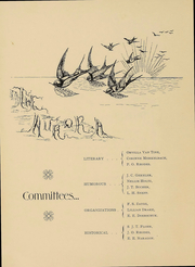 Page 7, 1898 Edition, Heidelberg University - Aurora Yearbook (Tiffin, OH) online yearbook collection