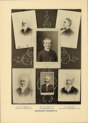 Page 12, 1901 Edition, Heidelberg University - Aurora Yearbook (Tiffin, OH) online yearbook collection