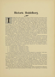 Page 17, 1901 Edition, Heidelberg University - Aurora Yearbook (Tiffin, OH) online yearbook collection