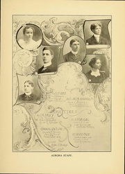 Page 7, 1901 Edition, Heidelberg University - Aurora Yearbook (Tiffin, OH) online yearbook collection