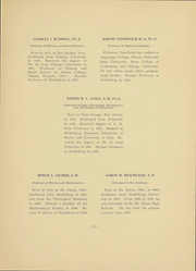 Page 12, 1907 Edition, Heidelberg University - Aurora Yearbook (Tiffin, OH) online yearbook collection