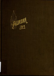 Page 1, 1919 Edition, Heidelberg University - Aurora Yearbook (Tiffin, OH) online yearbook collection
