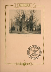 Page 13, 1919 Edition, Heidelberg University - Aurora Yearbook (Tiffin, OH) online yearbook collection