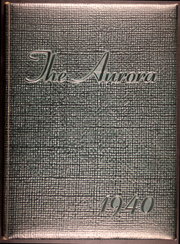 Page 1, 1940 Edition, Heidelberg University - Aurora Yearbook (Tiffin, OH) online yearbook collection