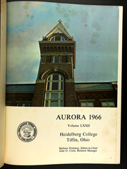 Page 5, 1966 Edition, Heidelberg University - Aurora Yearbook (Tiffin, OH) online yearbook collection