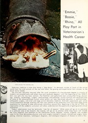 Page 11, 1970 Edition, Ohio State University College of Veterinary Medicine - Chiron Yearbook (Columbus, OH) online yearbook collection