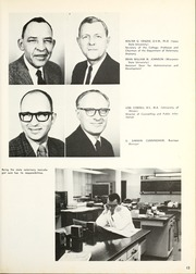 Page 17, 1970 Edition, Ohio State University College of Veterinary Medicine - Chiron Yearbook (Columbus, OH) online yearbook collection