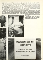 Page 9, 1970 Edition, Ohio State University College of Veterinary Medicine - Chiron Yearbook (Columbus, OH) online yearbook collection