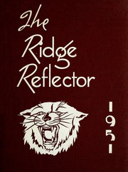1951 Edition, Ridge High School - Reflector Yearbook (Van Wert, OH)