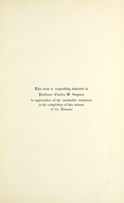 Page 11, 1914 Edition, Central High School - Almanac Yearbook (Toledo, OH) online yearbook collection