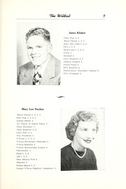 Page 13, 1952 Edition, Union High School - Wildcat Yearbook (Van Wert, OH) online yearbook collection
