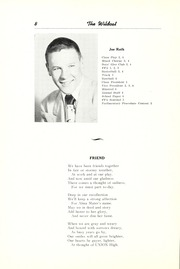 Page 14, 1952 Edition, Union High School - Wildcat Yearbook (Van Wert, OH) online yearbook collection