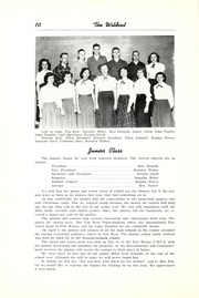 Page 16, 1952 Edition, Union High School - Wildcat Yearbook (Van Wert, OH) online yearbook collection