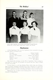 Page 17, 1952 Edition, Union High School - Wildcat Yearbook (Van Wert, OH) online yearbook collection
