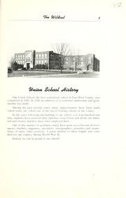 Page 7, 1952 Edition, Union High School - Wildcat Yearbook (Van Wert, OH) online yearbook collection