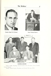Page 9, 1952 Edition, Union High School - Wildcat Yearbook (Van Wert, OH) online yearbook collection