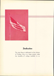 Page 10, 1941 Edition, University of Findlay - Argus Yearbook (Findlay, OH) online yearbook collection