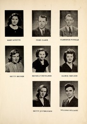 Page 17, 1946 Edition, Palestine High School - Eagle Yearbook (Palestine, OH) online yearbook collection