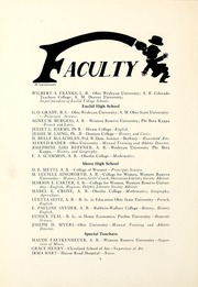 Page 12, 1922 Edition, Euclid Shore High School - Shore Log Yearbook (Euclid, OH) online yearbook collection