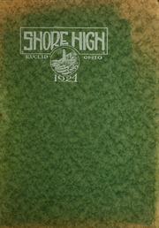 Page 1, 1924 Edition, Euclid Shore High School - Shore Log Yearbook (Euclid, OH) online yearbook collection