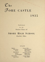 Page 3, 1935 Edition, Euclid Shore High School - Shore Log Yearbook (Euclid, OH) online yearbook collection