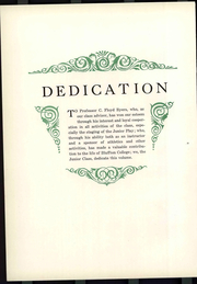 Page 10, 1929 Edition, Bluffton University - Ista Yearbook (Bluffton, OH) online yearbook collection