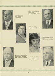 Page 16, 1932 Edition, Bluffton University - Ista Yearbook (Bluffton, OH) online yearbook collection