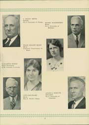 Page 17, 1932 Edition, Bluffton University - Ista Yearbook (Bluffton, OH) online yearbook collection