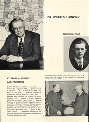 Page 12, 1954 Edition, Ohio Northern University - Northern Yearbook (Ada, OH) online yearbook collection