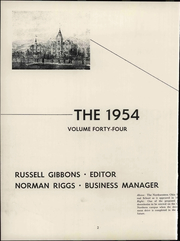 Page 8, 1954 Edition, Ohio Northern University - Northern Yearbook (Ada, OH) online yearbook collection