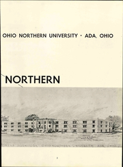Page 9, 1954 Edition, Ohio Northern University - Northern Yearbook (Ada, OH) online yearbook collection