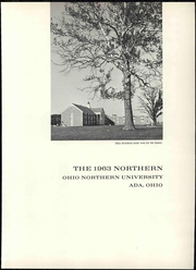 Page 7, 1963 Edition, Ohio Northern University - Northern Yearbook (Ada, OH) online yearbook collection