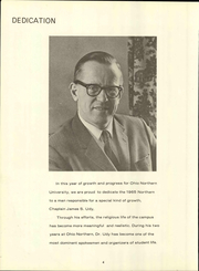 Page 10, 1965 Edition, Ohio Northern University - Northern Yearbook (Ada, OH) online yearbook collection