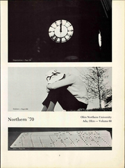 Page 9, 1970 Edition, Ohio Northern University - Northern Yearbook (Ada, OH) online yearbook collection