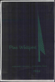 Page 1, 1966 Edition, Ashland University - Pine Whispers Yearbook (Ashland, OH) online yearbook collection