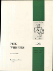 Page 7, 1966 Edition, Ashland University - Pine Whispers Yearbook (Ashland, OH) online yearbook collection