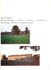 Page 7, 1972 Edition, Ashland University - Pine Whispers Yearbook (Ashland, OH) online yearbook collection