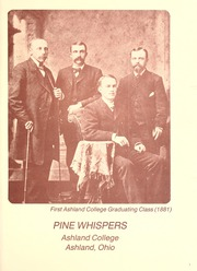 Page 5, 1978 Edition, Ashland University - Pine Whispers Yearbook (Ashland, OH) online yearbook collection