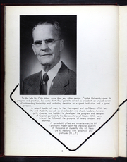 Page 12, 1958 Edition, Capital University - Capitalian Yearbook (Columbus, OH) online yearbook collection